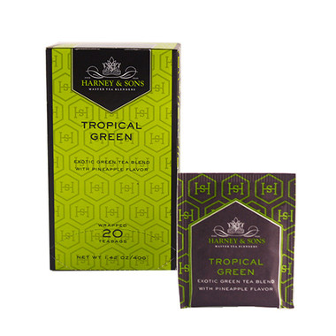 Harney & Sons Tropical Green Tea - 20 Bags
