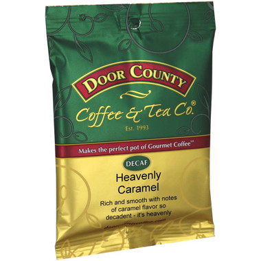 Heavenly Caramel Decaf Coffee Full-Pot Bag