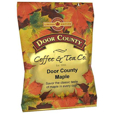 Door County Maple Coffee Full-Pot Bag
