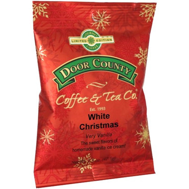 White Christmas Coffee Full-Pot Bag