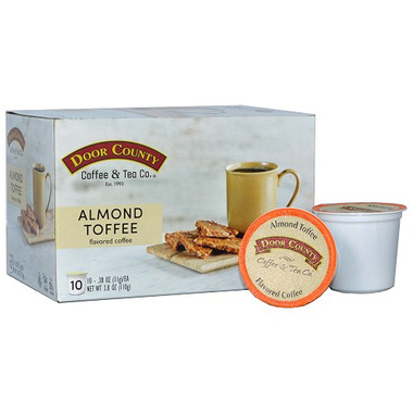 Almond Toffee Coffee Single Serve Cups
