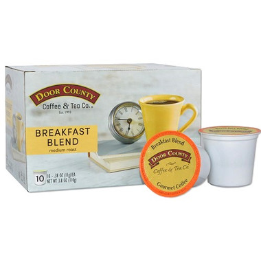 Breakfast Blend Coffee Single Serve Cups