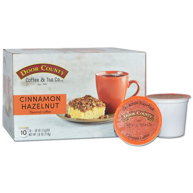 Cinnamon Hazelnut Coffee Single Serve Cups