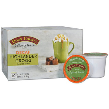 Highlander Grogg Decaf Coffee Single Serve Cups