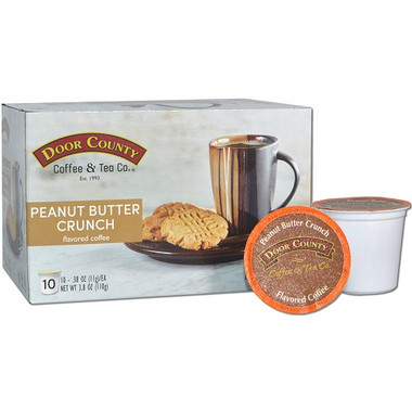 Peanut Butter Crunch Coffee Single Serve Cups