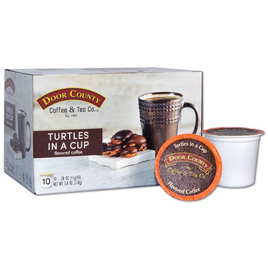 Turtles in a Cup Coffee Single Serve Cups