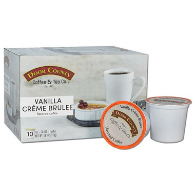 Vanilla Creme Brulee Coffee Single Serve Cups