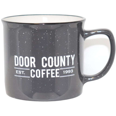 Door County Coffee Gray Campfire Mug
