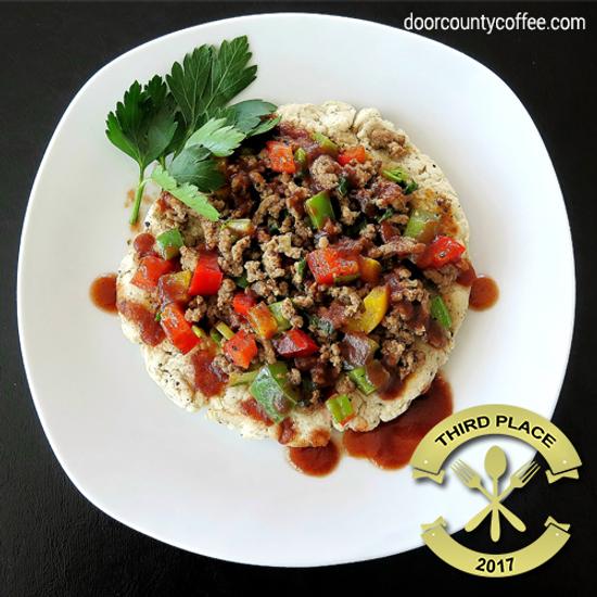 Spicy Java Beef BBQ Flatbread