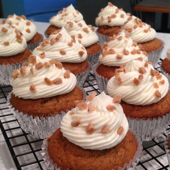 Coffee Banoffee Cupcakes