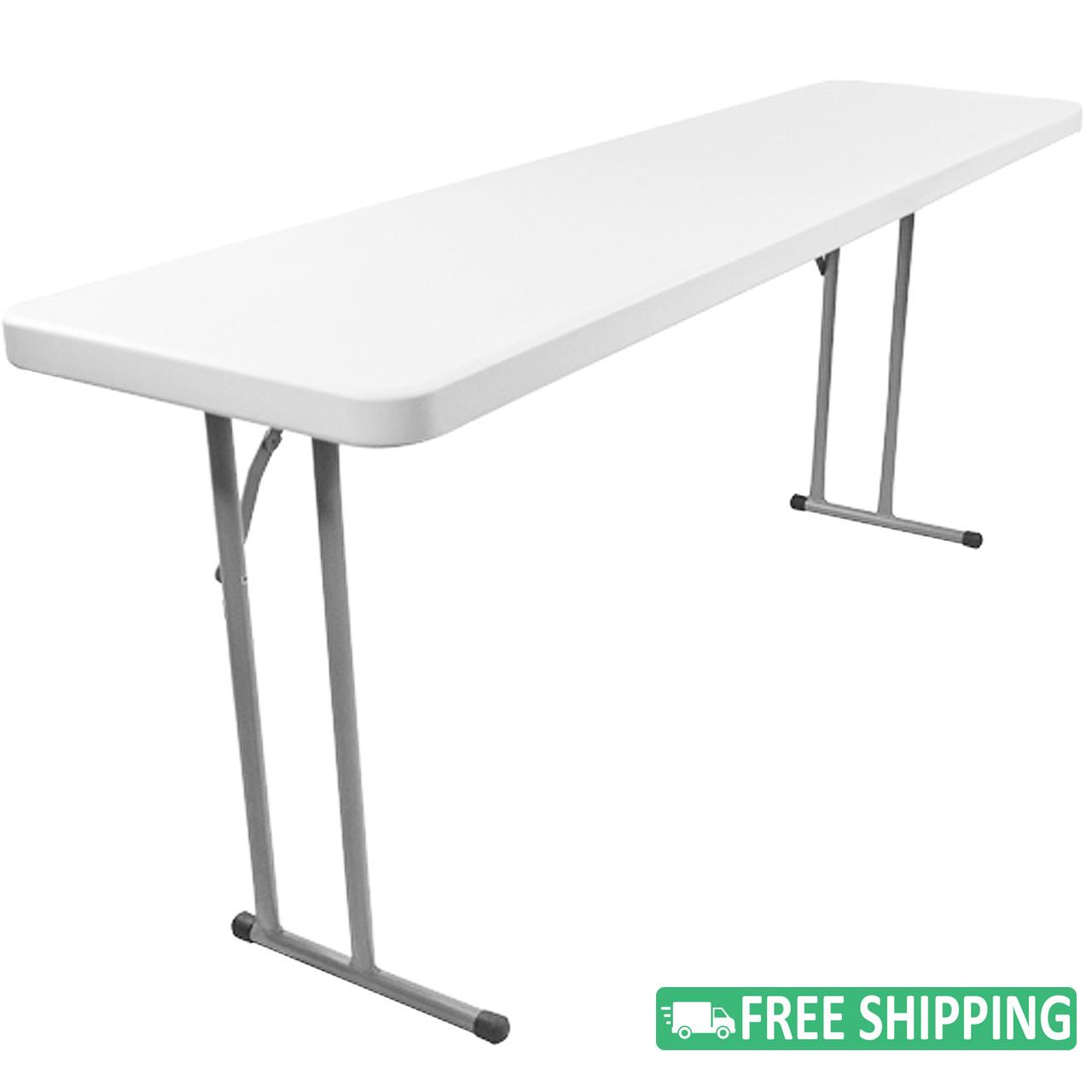 - Advantage 8' Folding Training Tables Classroom Essentials Online