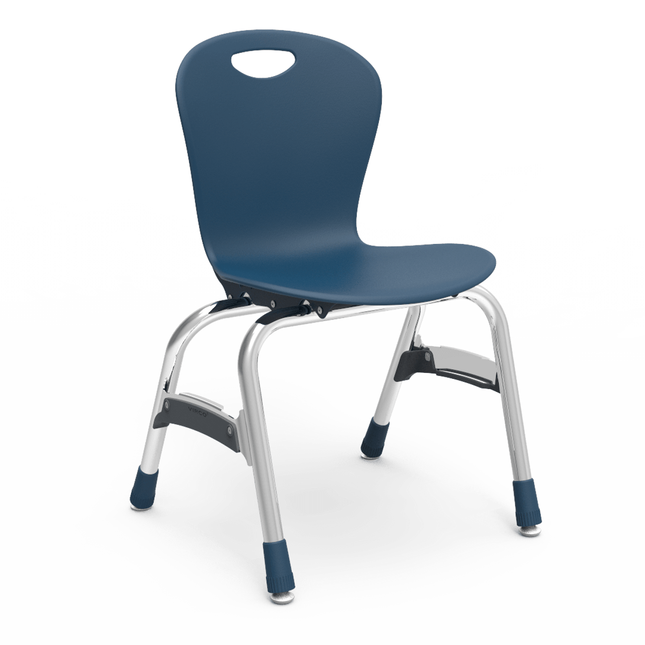 Awe Inspiring Virco Zuma Series Fixed Height Stack Chair With 15H Seat And Chrome Frame Zu415 5 Pack Bralicious Painted Fabric Chair Ideas Braliciousco