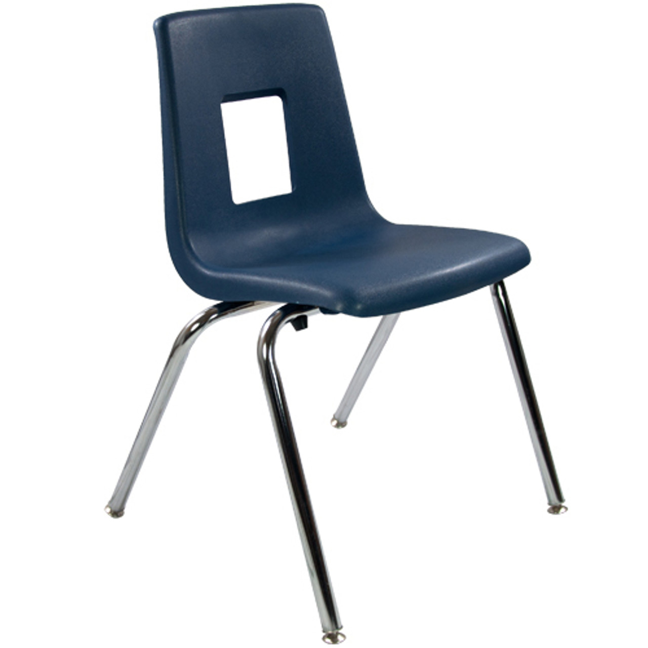 Advantage 18-in Navy Student Stack School Chair