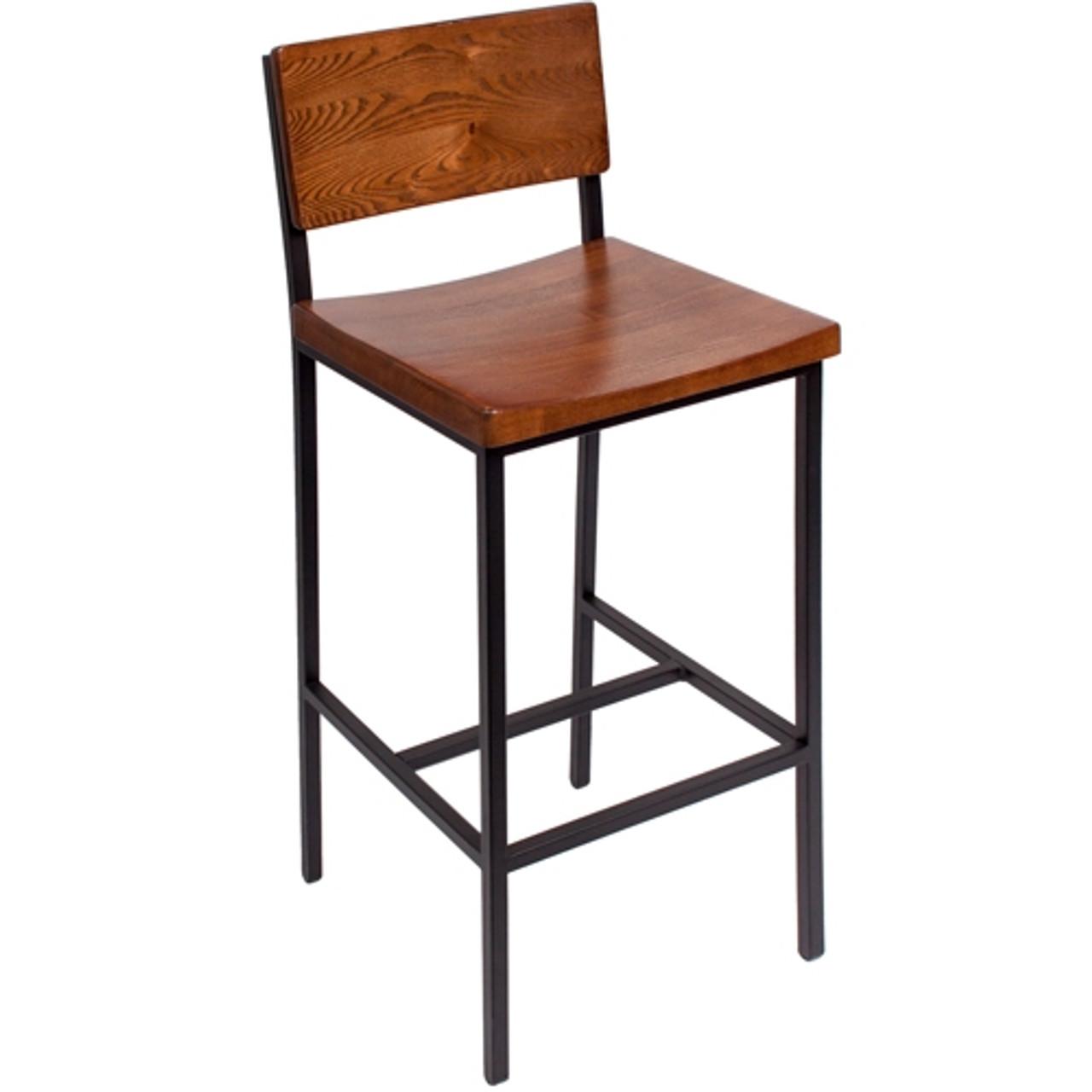 Wondrous Bfm Seating Memphis Industrial Bar Stool Js33Bash Sb Ibusinesslaw Wood Chair Design Ideas Ibusinesslaworg