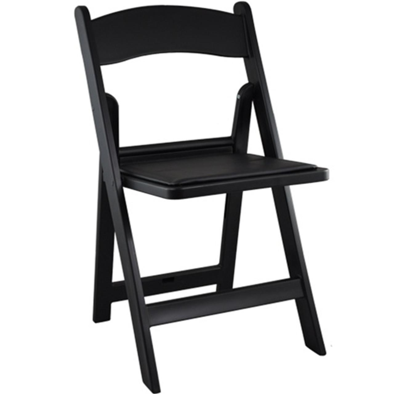 Peachy Advantage Black Resin Folding Chairs Le L 1 Black Gg Bralicious Painted Fabric Chair Ideas Braliciousco