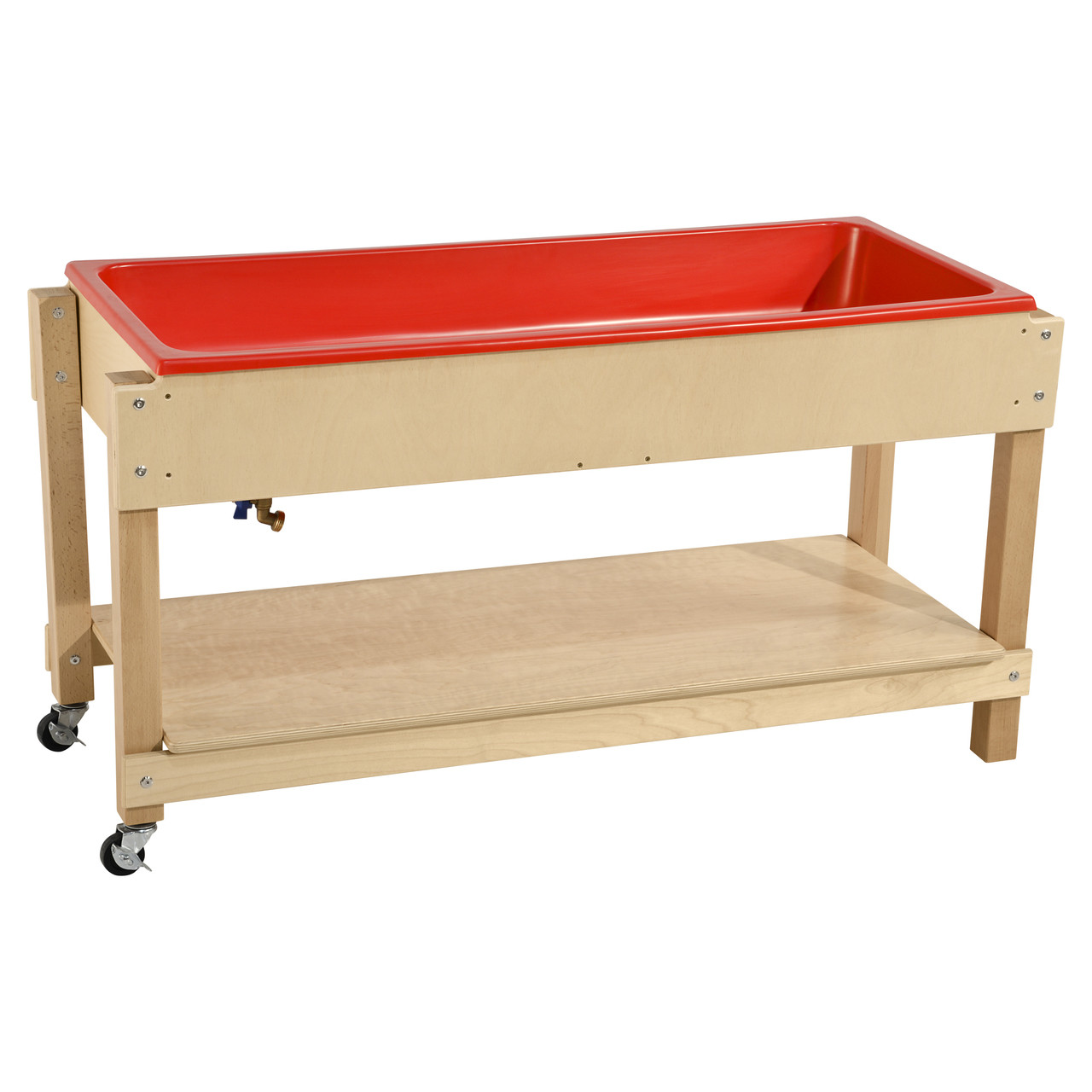 Wood Designs Sand And Water Table With Lid Shelf 11810 Wdd