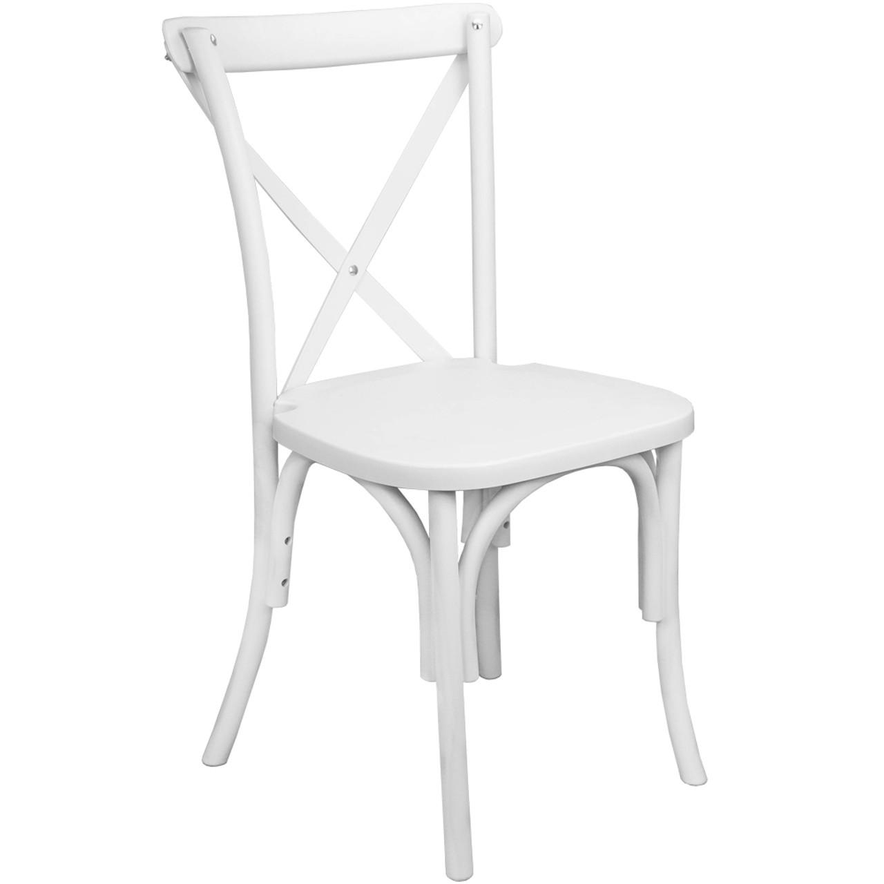 Miraculous Advantage White Resin X Back Chair Resxb White Creativecarmelina Interior Chair Design Creativecarmelinacom