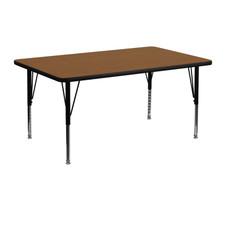 Virco Rectangular 24x48 Preschool Activity Table Kids Activity Tables Classroom Activity Tables