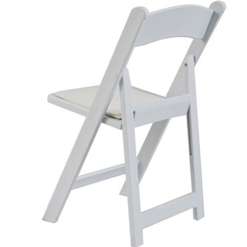 Fabulous Advantage White Resin Folding Chairs Le L 1 White Gg Ocoug Best Dining Table And Chair Ideas Images Ocougorg