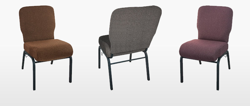 Concealed Back Church Chairs