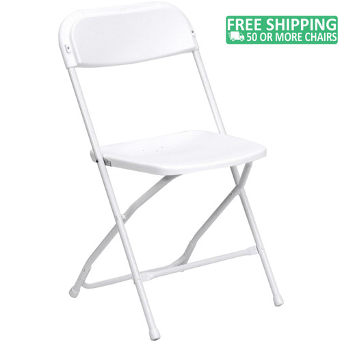 Excellent Advantage White Poly Folding Chair Dining Height Ppfc White Caraccident5 Cool Chair Designs And Ideas Caraccident5Info