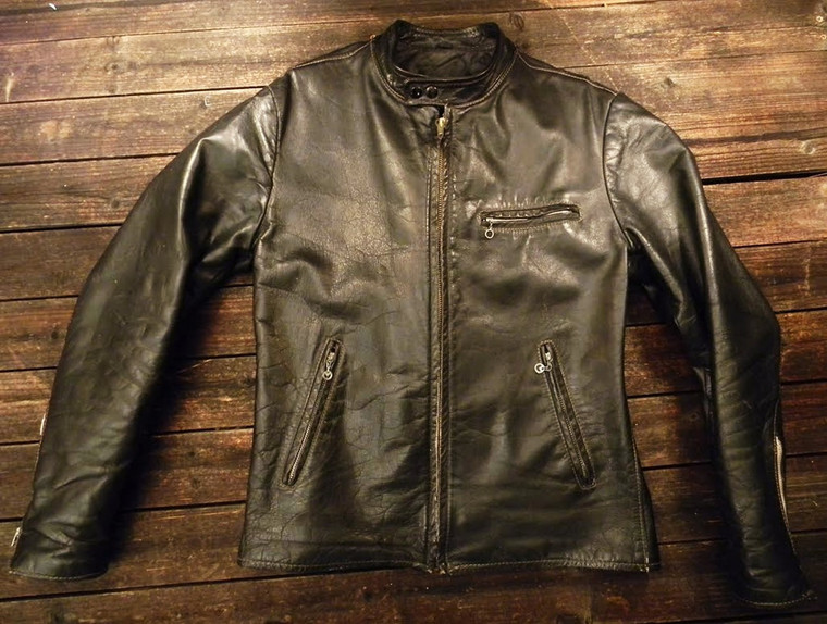 Moto cool! the  front of the iconic cafe racer jacket
