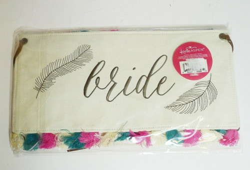 Kate Aspen Bride and Groom Chair Back Backers Signs