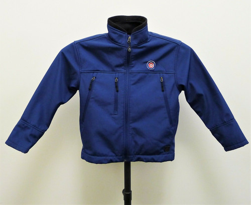 Antigua Light Weight Water Resistant Chicago Cubs Jacket Youth Size Medium