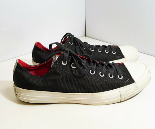 Unisex Converse All Star Black with Camo Shoes  140053F Men's 12 - Women's 14