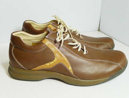 Steve Madden Chester Oxford Sneaker Style Brown Men's Shoes Size 13