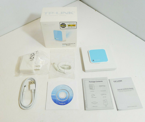 TP-Link 150Mbps Wireless N Nano Travel Router Model TL-WR702N  OPEN BOX