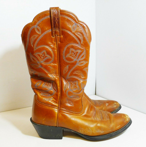 Ariat Women's Brown Leather Boots Style 15740 Size 7 B
