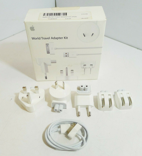 Apple World Travel Adapter Kit MB974ZM/B  **Missing Pieces**