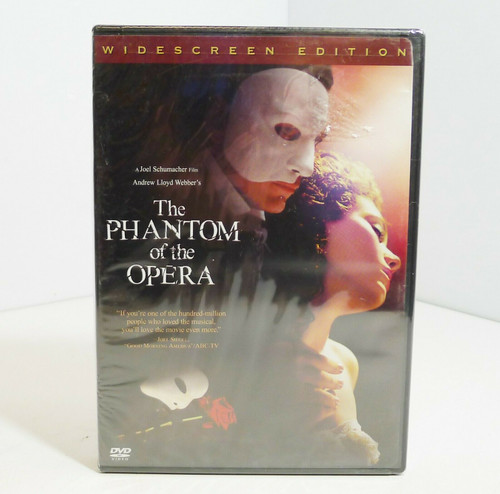 The Phantom of the Opera Widescreen Edition DVD - NEW - Sealed