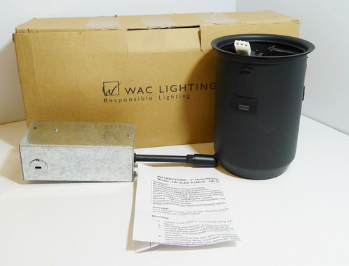"WAC Lighting HR-3LED-R18D-A LED 3"" 20W Recessed Down Light Remodel Housing"
