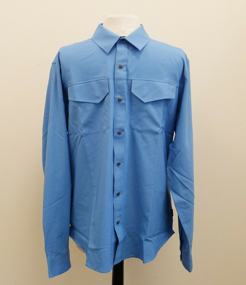 Magpul Men's Morning Blue Anti-Insect Long Sleeve Shirt Size Large - NEW NWT