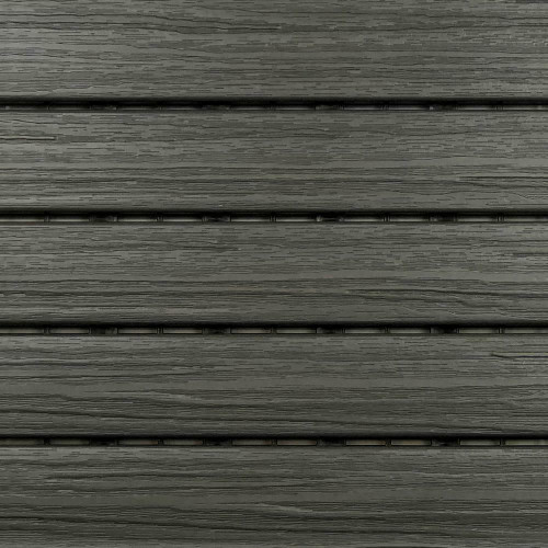 "Aura Pre-Finished Polymer Deck Tile in Driftwood 12""x12"" (6 SQ. FT. Total) NEW"
