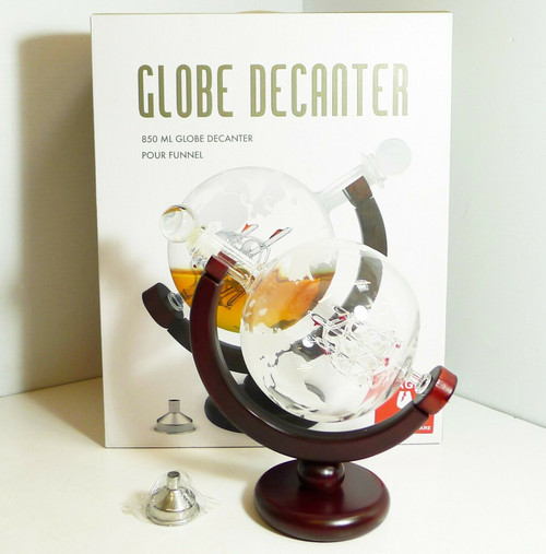 850ML Globe Decanter Pour Funnel