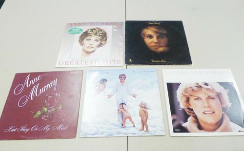 Set of 5 Anne Murray Vintage Vinyl LP Records - Greatest Hits and More
