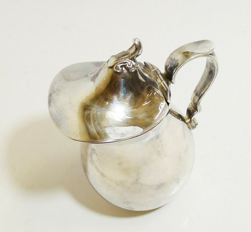 "Reed & Barton Silverplated 5"" Creamer with Hinged Lid 962"