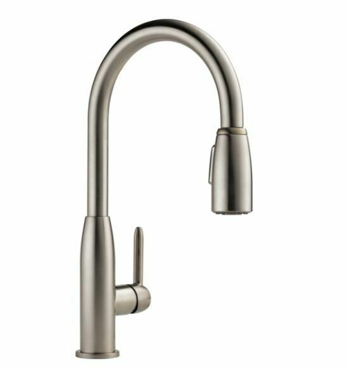 Peerless 1-Handle Pull-Down Kitchen Faucet in Stainless Steel P188103LF-SS  NEW