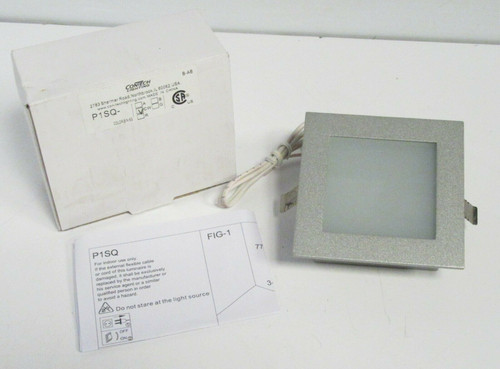 ConTech Lighting P1SQ-CW 1W Square LED Marker Light - Cool White NEW