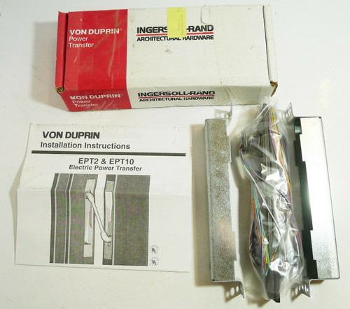 Ingersoll-Rand Architectural Hardware Von Duprin EPT-10 Electric Power Transfer