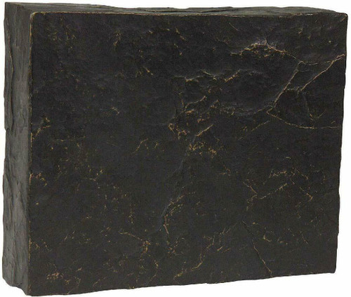 Craftmade CH1801-ST Faux Stone Indoor Door Chime, Black with Gold Wash, OPEN BOX