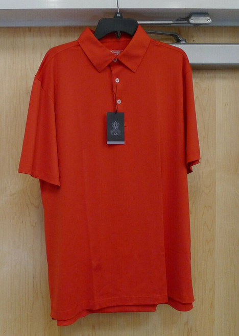 Gleneagles Country Club Silver Tassie Men's Short Sleeve Shirt Size Large L NEW