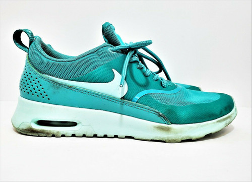 Nike Women's Green Air Max Thea Running Shoes Size 6.5