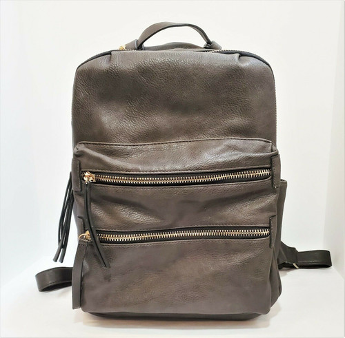 Madison West Gray Backpack