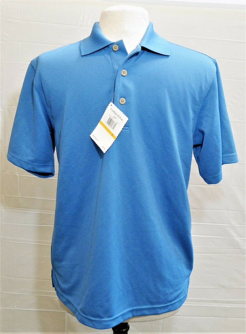 Cubavera Men's Blue Essential Polo Size S - NEW NWT