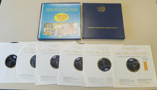 Longines Symphonette Society Happy Days Are Here Again 6-Album Record Set