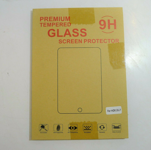 9H Premium Tempered Glass Screen Protector For Amazon Kindle Fire HD 8 2017